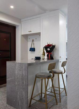 110平米三室一厅美式风格玄关图