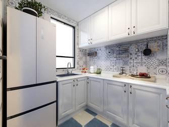 80平米三室两厅美式风格厨房装修案例