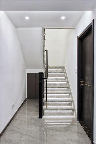 20万以上140平米复式现代简约风格楼梯间图