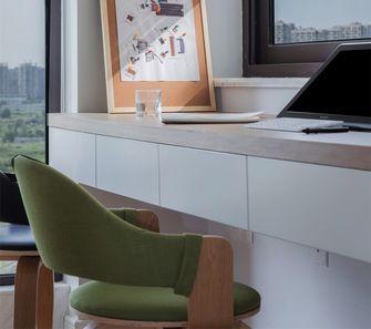 经济型90平米三日式风格书房设计图