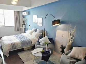 10-15万30平米小户型北欧风格卧室欣赏图