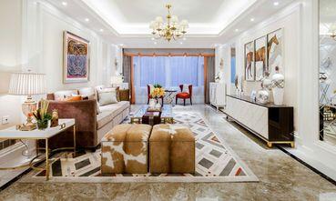 富裕型120平米三室一厅新古典风格客厅装修案例