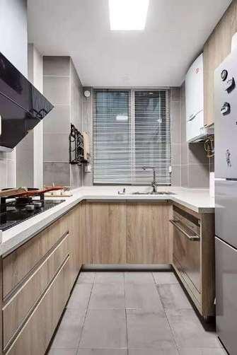 富裕型90平米北欧风格厨房欣赏图