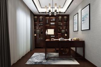 140平米四室两厅新古典风格书房图