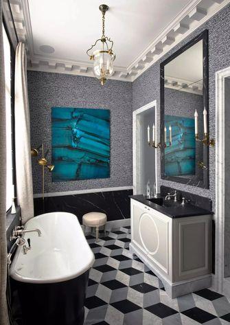 5-10万90平米法式风格卫生间装修案例