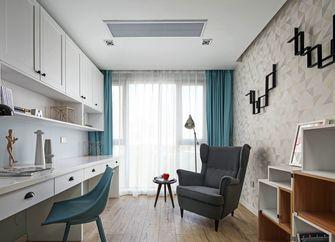 20万以上100平米四室两厅美式风格书房图片