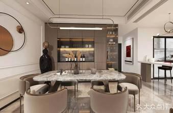 豪华型140平米复式美式风格餐厅图片大全