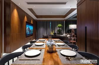 豪华型140平米别墅混搭风格餐厅装修效果图
