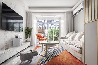 10-15万50平米轻奢风格客厅装修图片大全