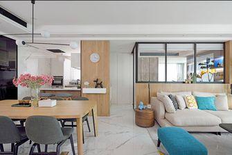 5-10万100平米三室两厅北欧风格走廊图片