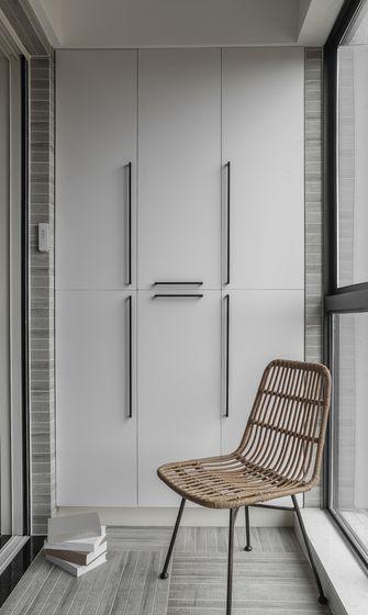豪华型130平米三室两厅美式风格阳台装修效果图