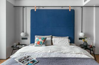 10-15万80平米三室两厅北欧风格卧室装修案例