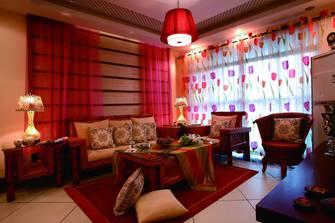 三东南亚风格客厅图