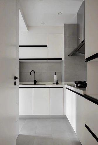 3万以下90平米北欧风格厨房装修图片大全
