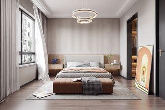 140平米三室一厅港式风格卧室设计图