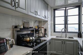 10-15万130平米三室一厅欧式风格厨房欣赏图