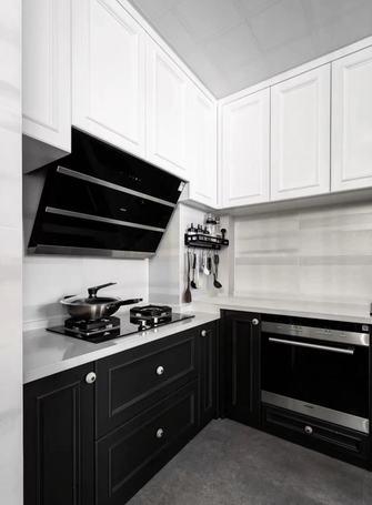 富裕型140平米三室两厅混搭风格厨房欣赏图