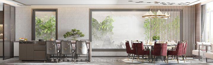 140平米四室两厅中式风格餐厅图片