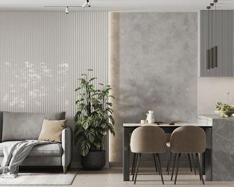 豪华型110平米四室两厅现代简约风格餐厅欣赏图