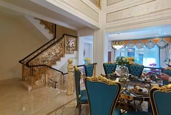 20万以上140平米别墅欧式风格餐厅设计图