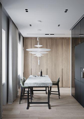 豪华型130平米三室两厅现代简约风格餐厅图片