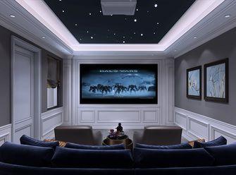 140平米复式美式风格影音室图片大全