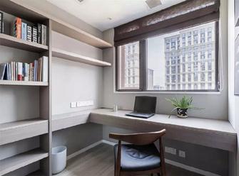 10-15万80平米三室两厅美式风格书房装修案例