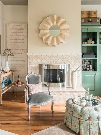 10-15万120平米三室一厅法式风格客厅装修图片大全