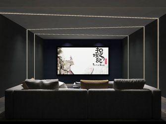 豪华型140平米中式风格影音室图片
