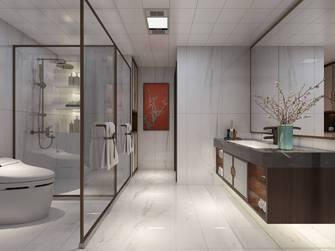 20万以上140平米四室四厅轻奢风格卫生间装修图片大全