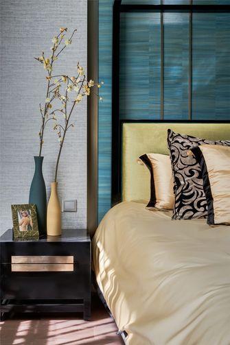 110平米三室两厅港式风格卧室装修效果图