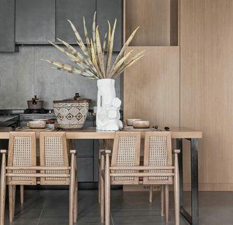 富裕型100平米三室一厅东南亚风格餐厅图片大全