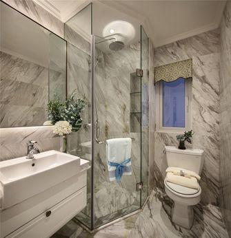 80平米三室两厅欧式风格卫生间图