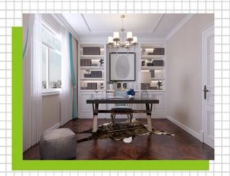 豪华型120平米四室两厅欧式风格书房装修案例