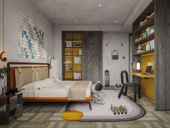 20万以上140平米复式现代简约风格青少年房设计图