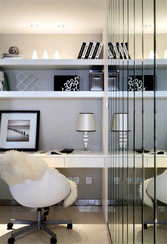 10-15万100平米三室两厅现代简约风格书房装修图片大全