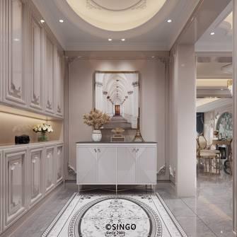 豪华型140平米别墅法式风格玄关图