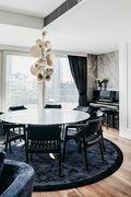 豪华型100平米三室两厅港式风格餐厅图片大全
