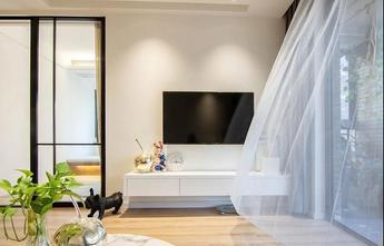 经济型110平米三室两厅北欧风格客厅装修案例