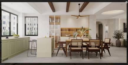 经济型130平米三室一厅东南亚风格餐厅效果图