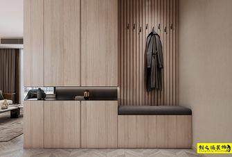 富裕型130平米三室两厅现代简约风格玄关效果图