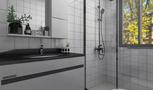 5-10万70平米公寓日式风格卫生间装修效果图