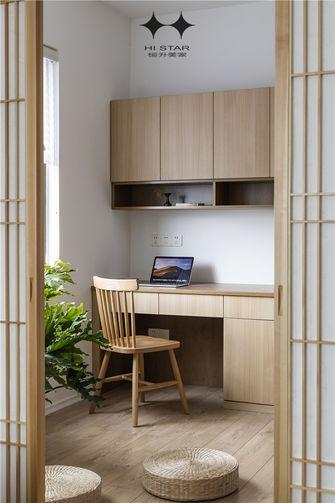 90平米日式风格书房图片