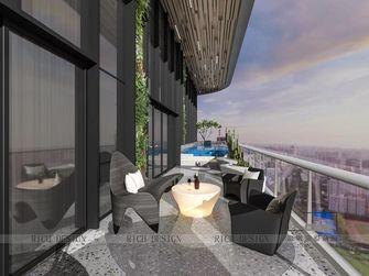 140平米复式现代简约风格走廊效果图