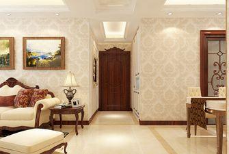 120平米三室两厅新古典风格玄关图片大全