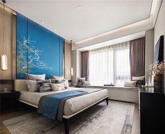 120平米四室两厅中式风格卧室装修图片大全