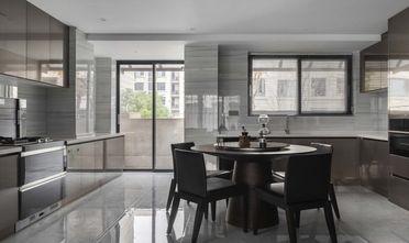 富裕型90平米三室一厅轻奢风格餐厅效果图