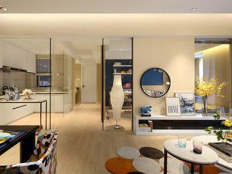 富裕型90平米三室两厅现代简约风格客厅装修效果图