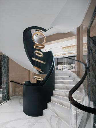 140平米别墅混搭风格楼梯间装修效果图
