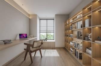 豪华型140平米三室两厅日式风格书房图